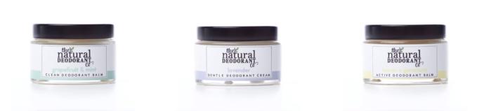 natural deodorant company sustainable beauty