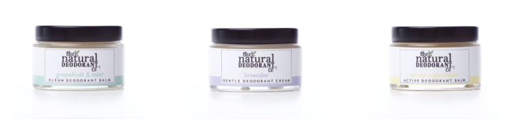 natural deodorant company sustainable beauty