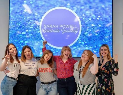 sarah powell international womens day