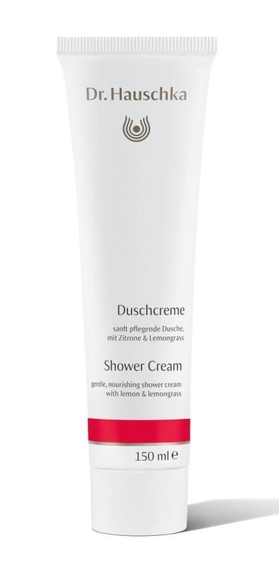 dr hauschka shower cream recycled packaging