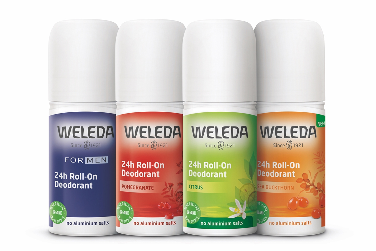 weleda roll on natural deodorant