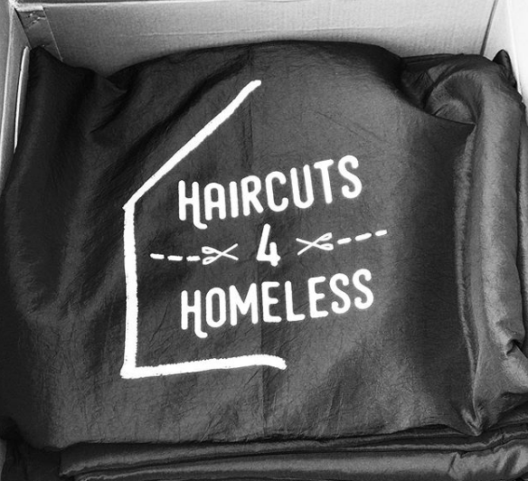 haircuts for homeless charity