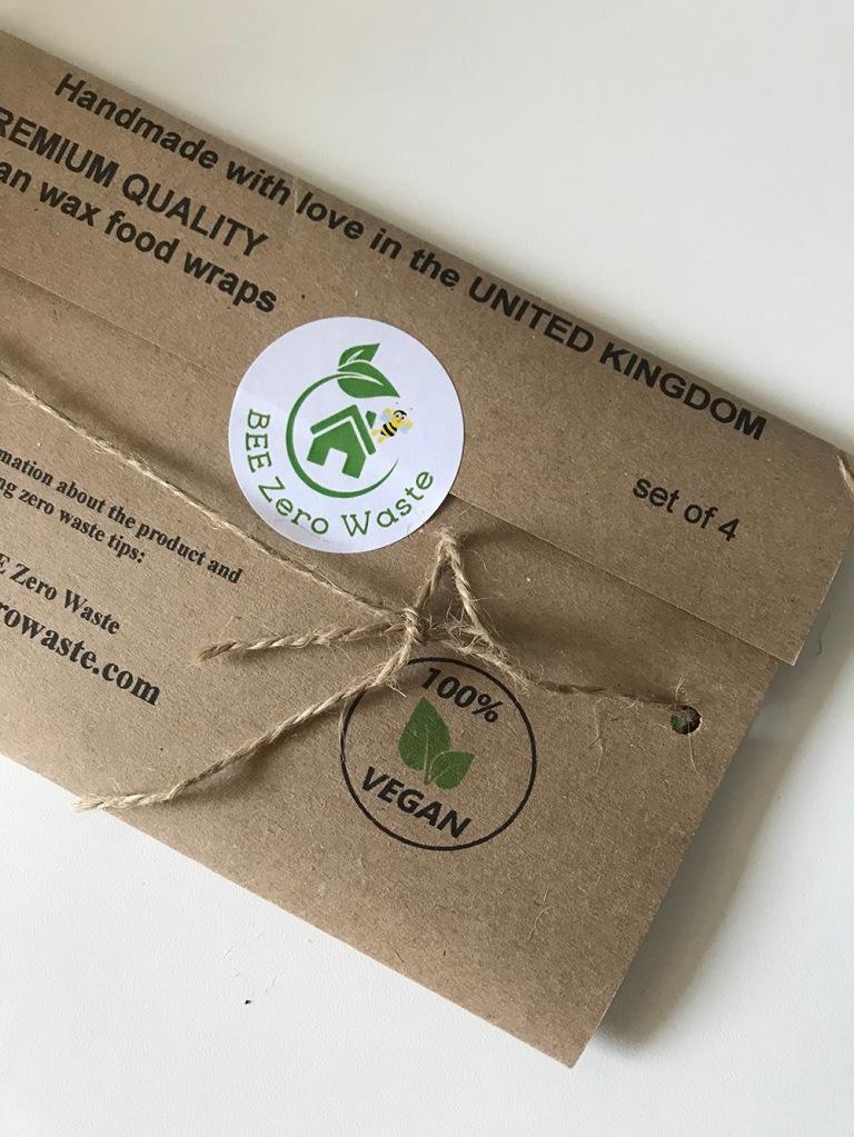 beezero waste eco food wraps