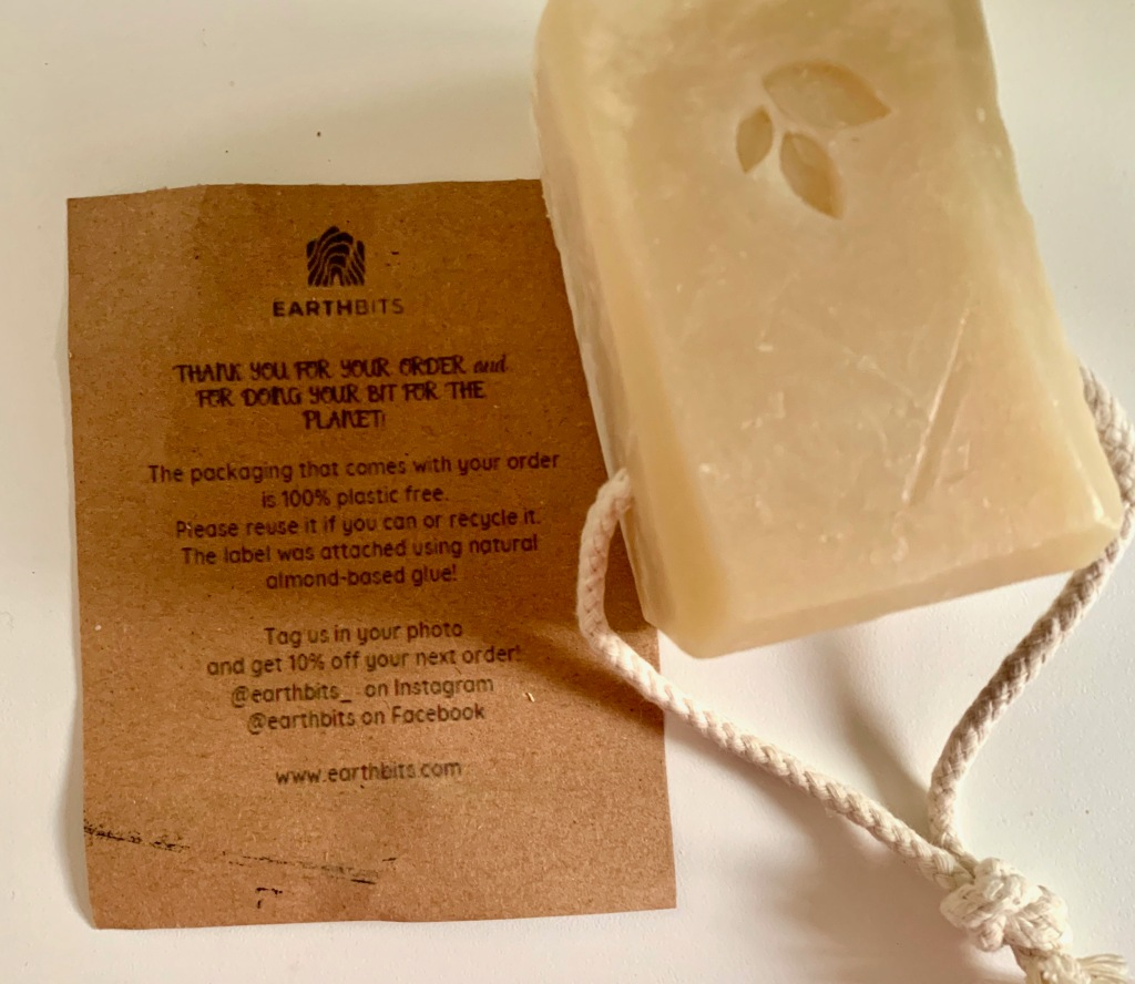 earthbits natural soap on rope review